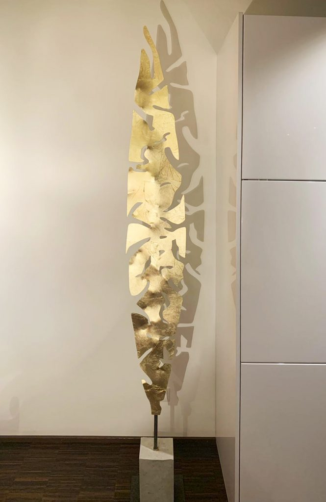 TiKa_ART_Metall_Unikate_Feder_Gold